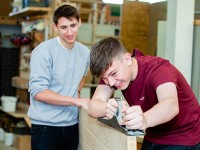 Student Experience Day 2021 - Carpentry